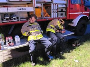 Feuerwehrleute aus dem Ruhrpott