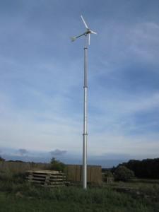 Sroka Stahlbau Kleinwindanlage mit passiver Pitchverstellung 3,5 kW, www.sroka-stahlbau.de