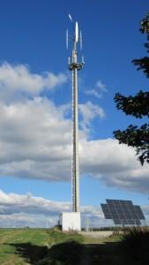 Sroka Stahlbau - Autarke Handynetz-Versorgung durch erneuerbare Energien